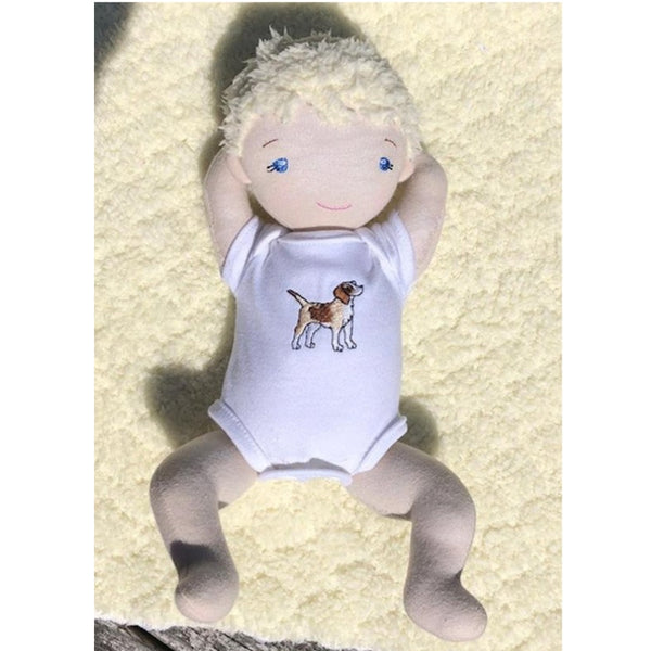 undershirt sewing pattern for 12 inch doll, snugglepuppyapplique.com
