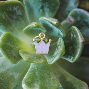 Purple Pendant Crown