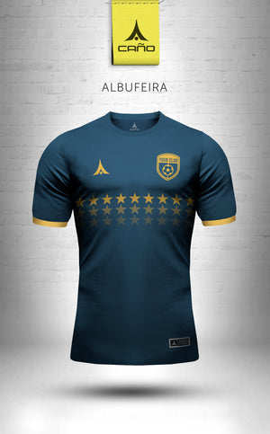Albufeira in navy/gold