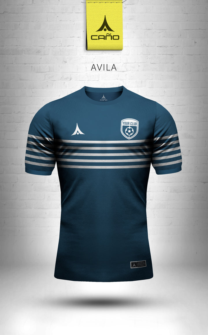 Avila in navy/white