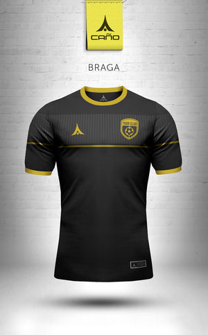 Braga in black/gold