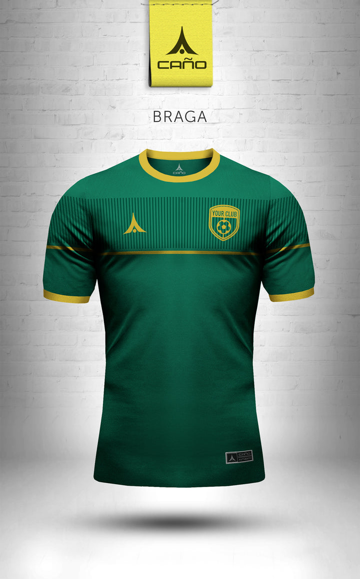 Braga in green/gold