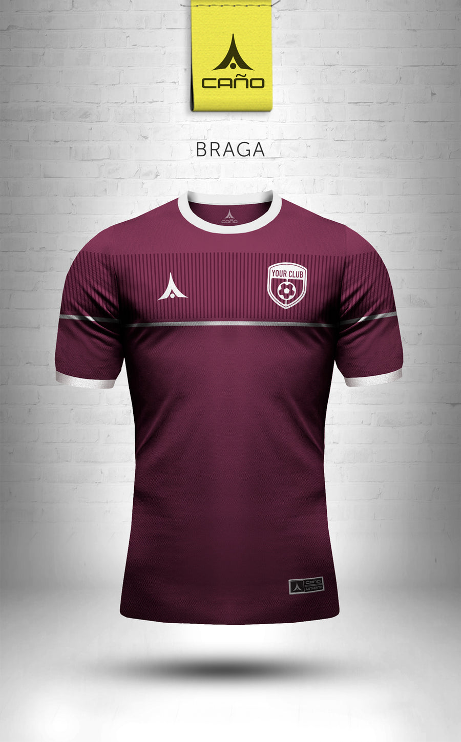 Braga in maroon/white