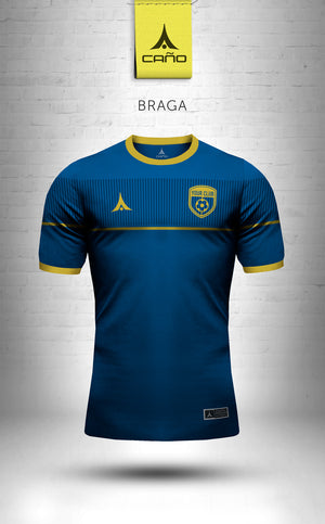 Braga in navy/gold