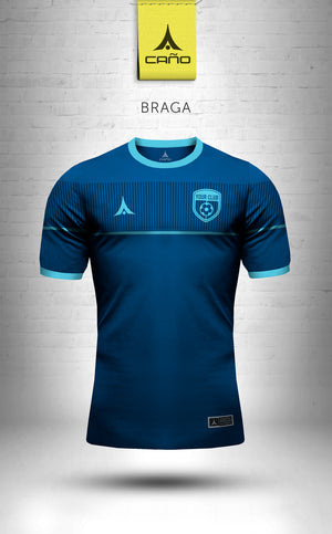 Braga in navy/light blue