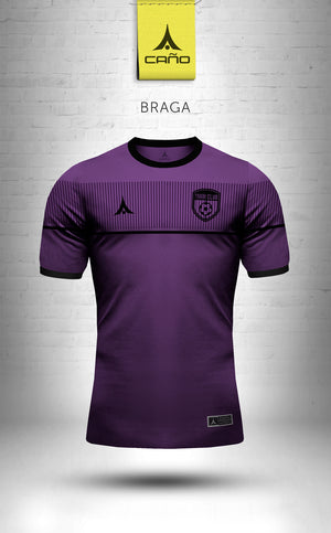 Braga in purple/black