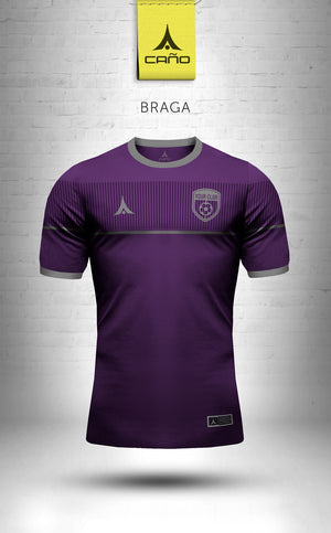 Braga in purple/grey