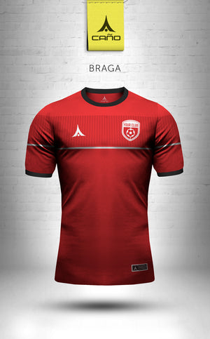 Braga in red/black/white
