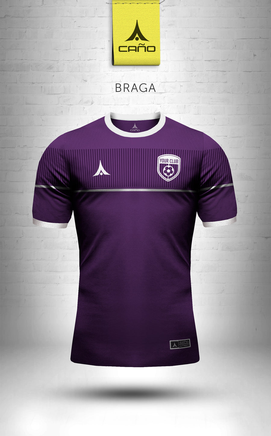 Braga in purple/white