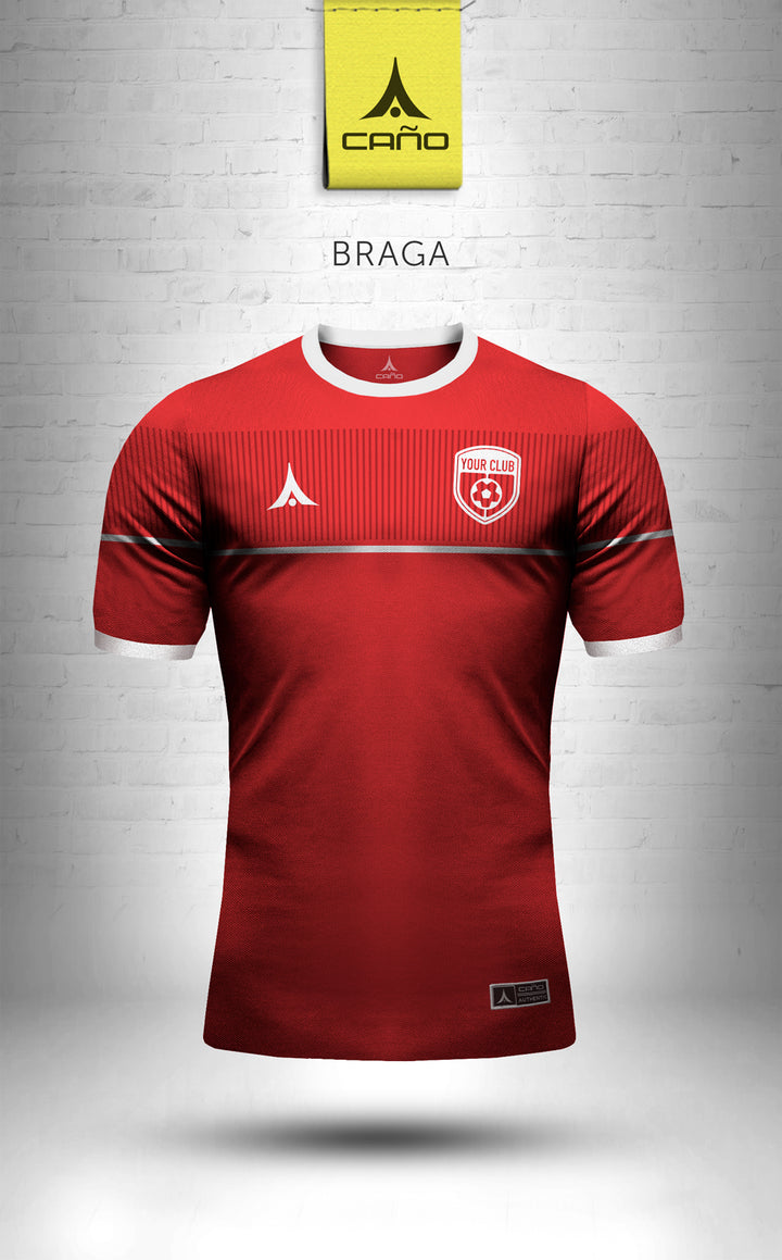 Braga in red/white
