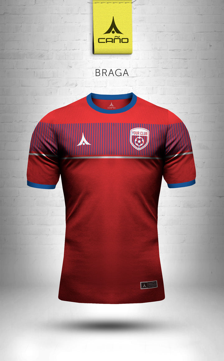 Braga in red/blue/white
