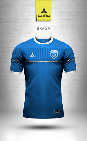 Braga in royal/white