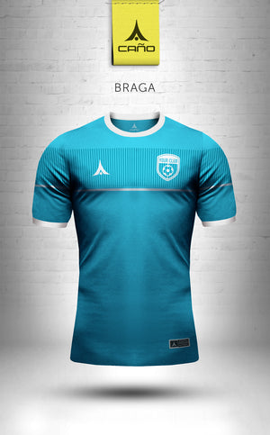 Braga in light blue/white