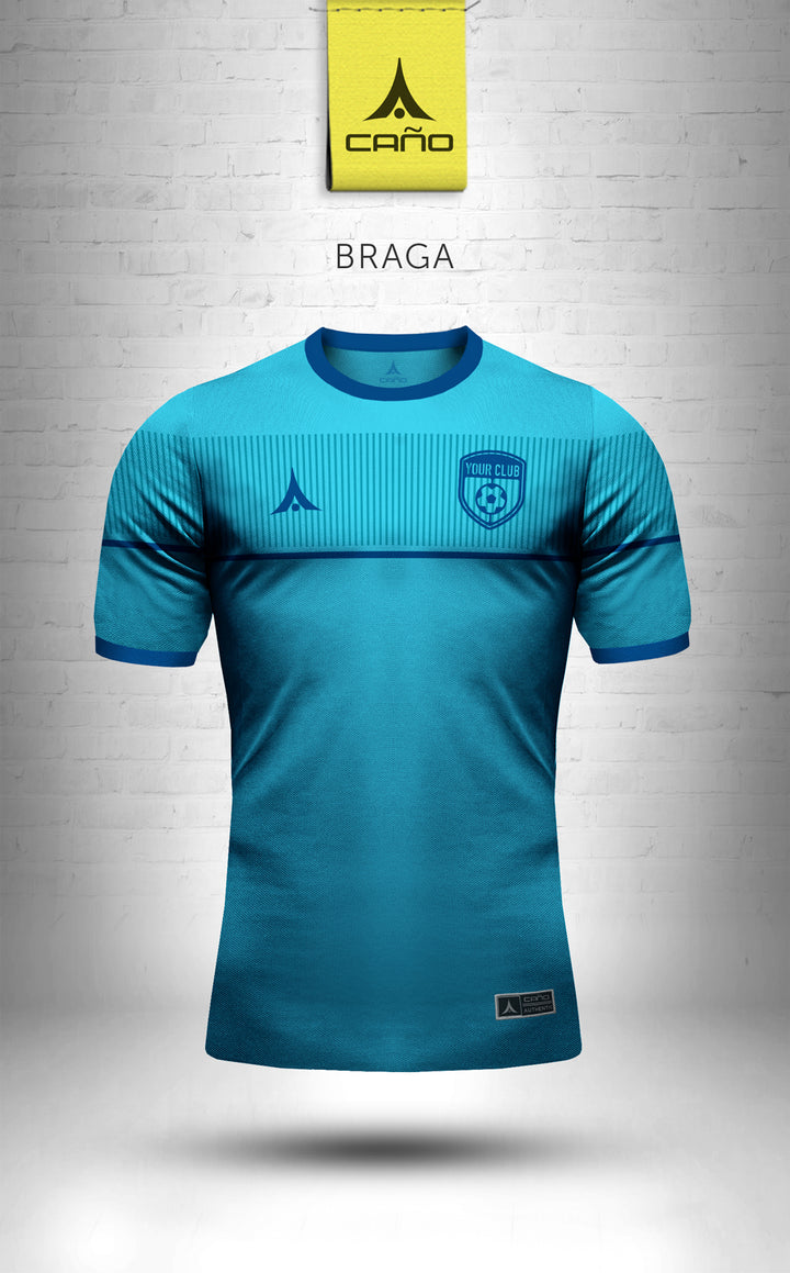 Braga in light blue/blue