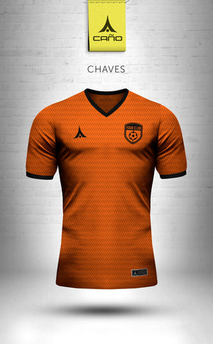 Chaves in orange/black