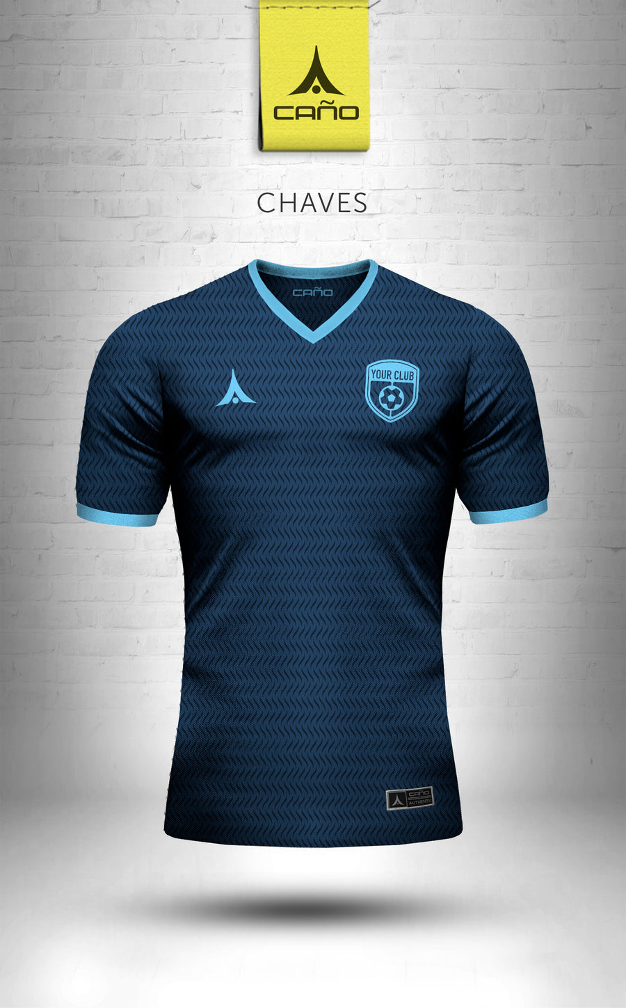 Chaves in navy/light blue