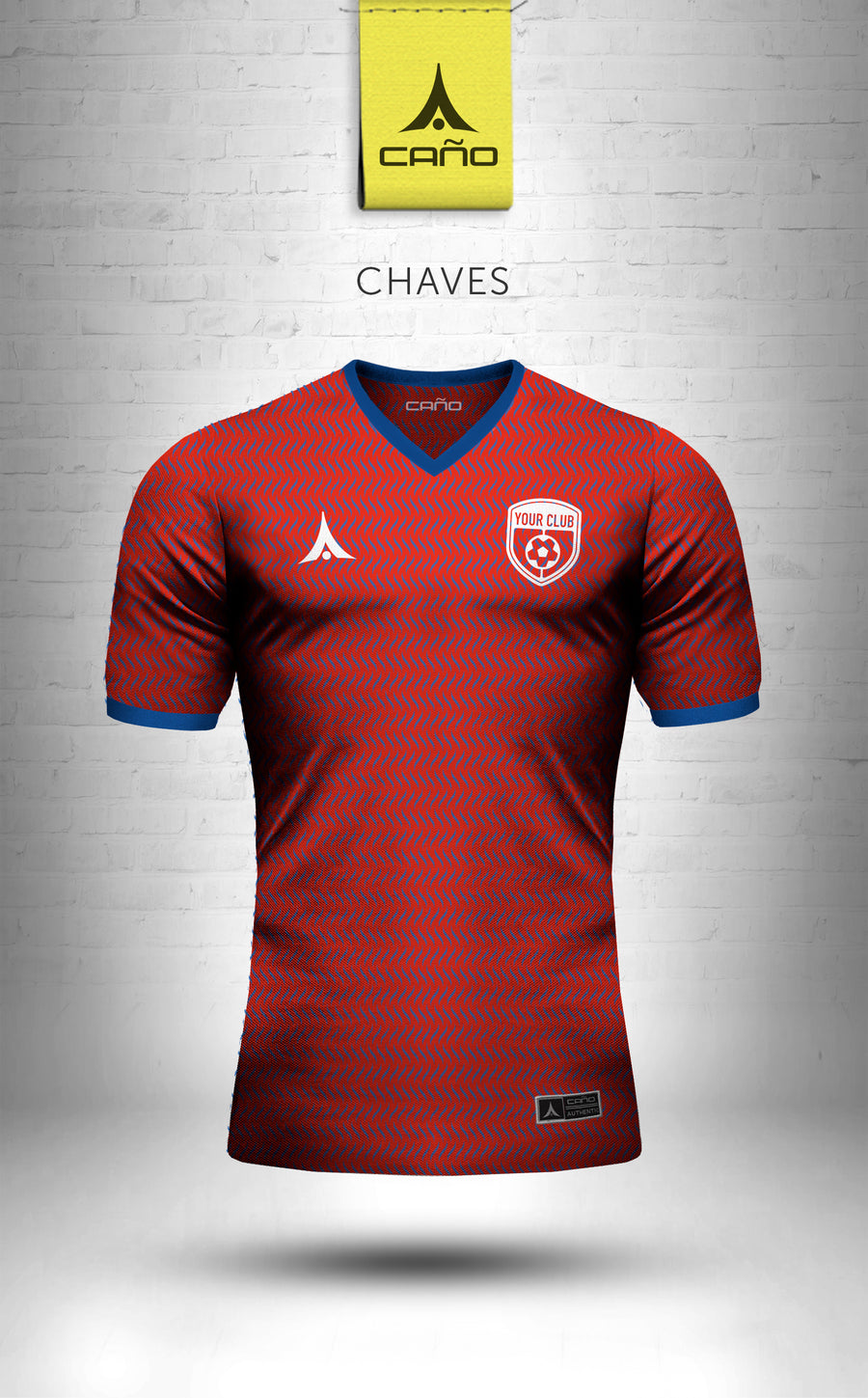 Chaves in red/blue/white