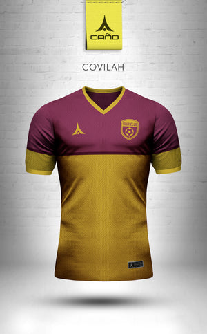 Covilah in maroon/gold