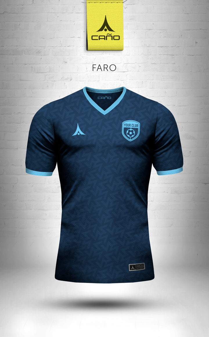 Faro in navy/light blue