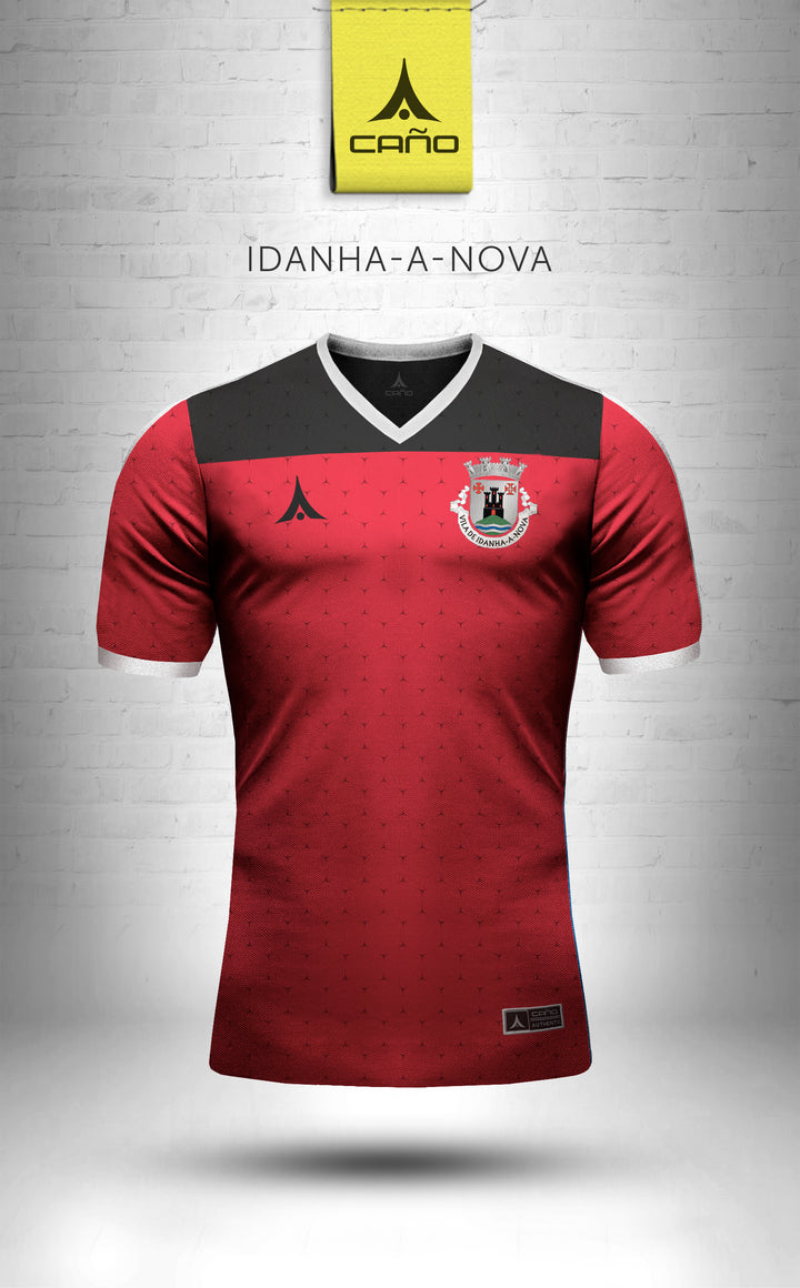Idanha-a-Nova in red/black