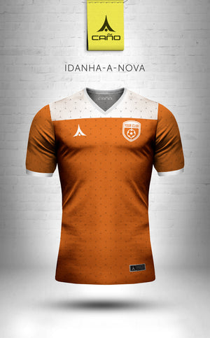 Idanha-a-Nova in orange/white