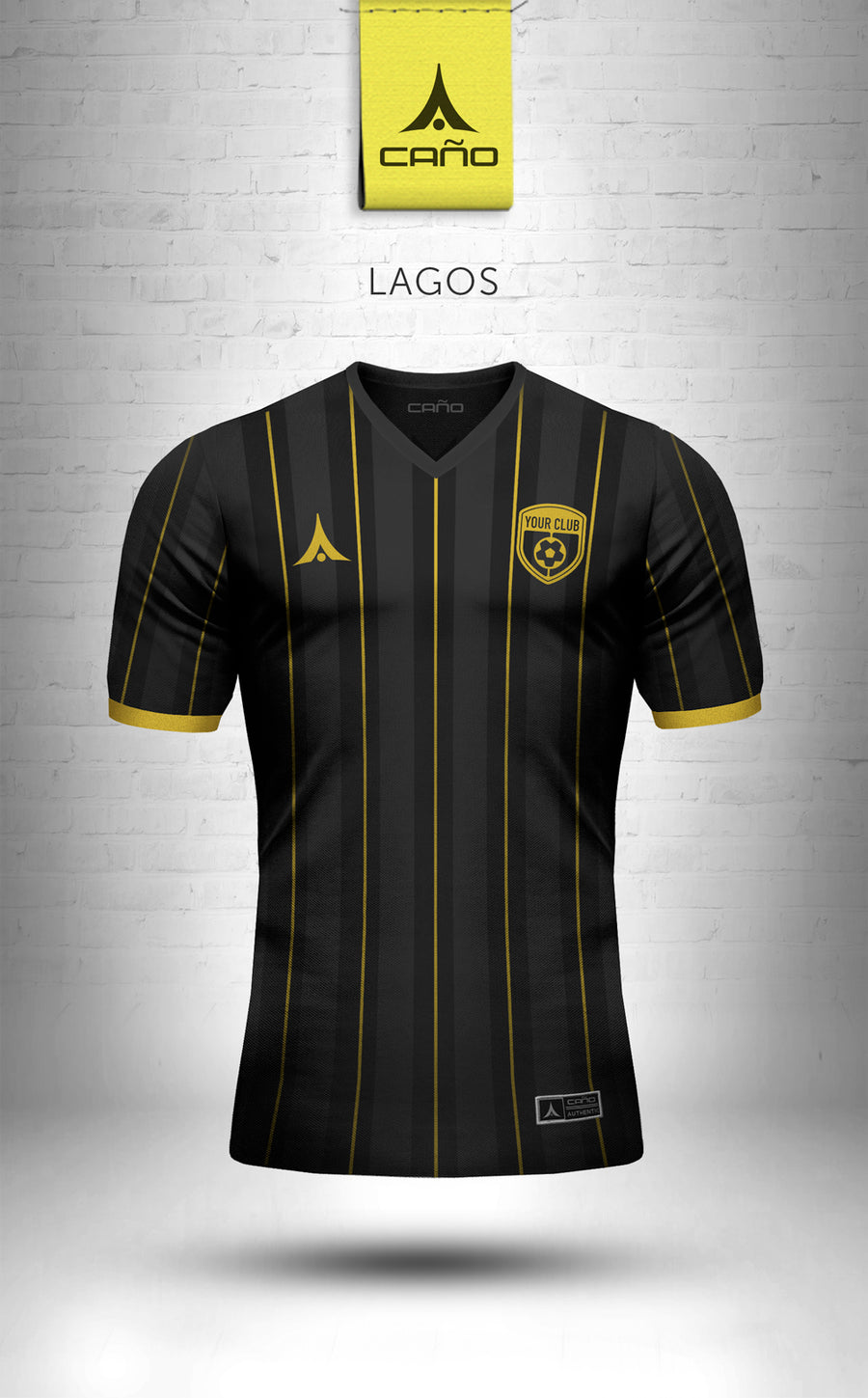 Lagos in black/gold