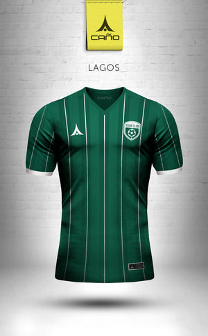 Lagos in green/white