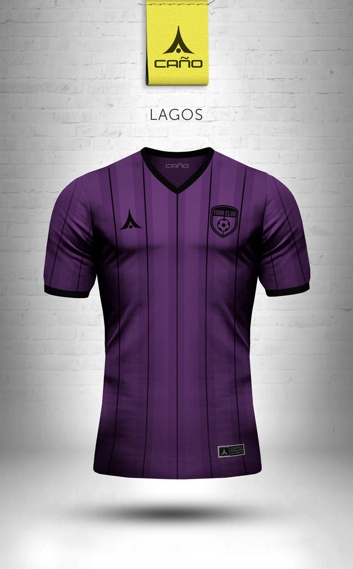 Lagos in purple/black
