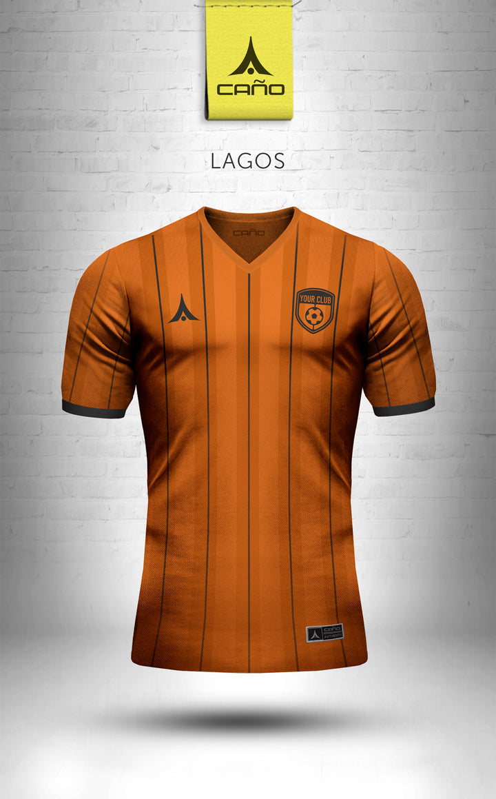 Lagos in orange/black