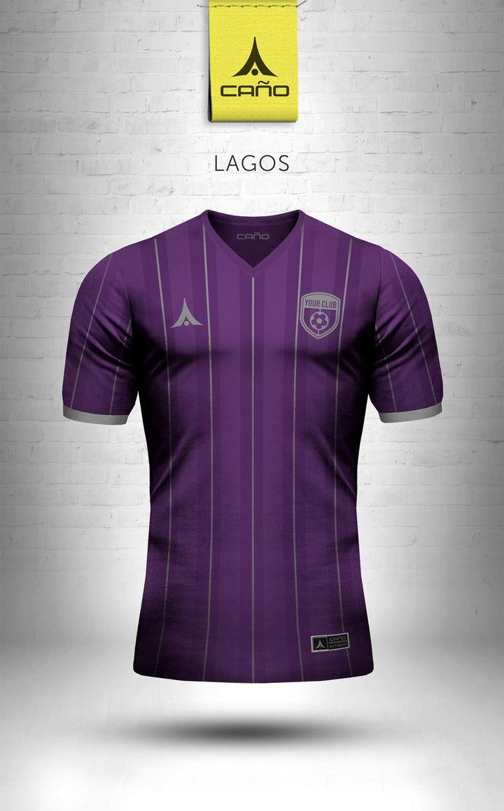 Lagos in purple/grey
