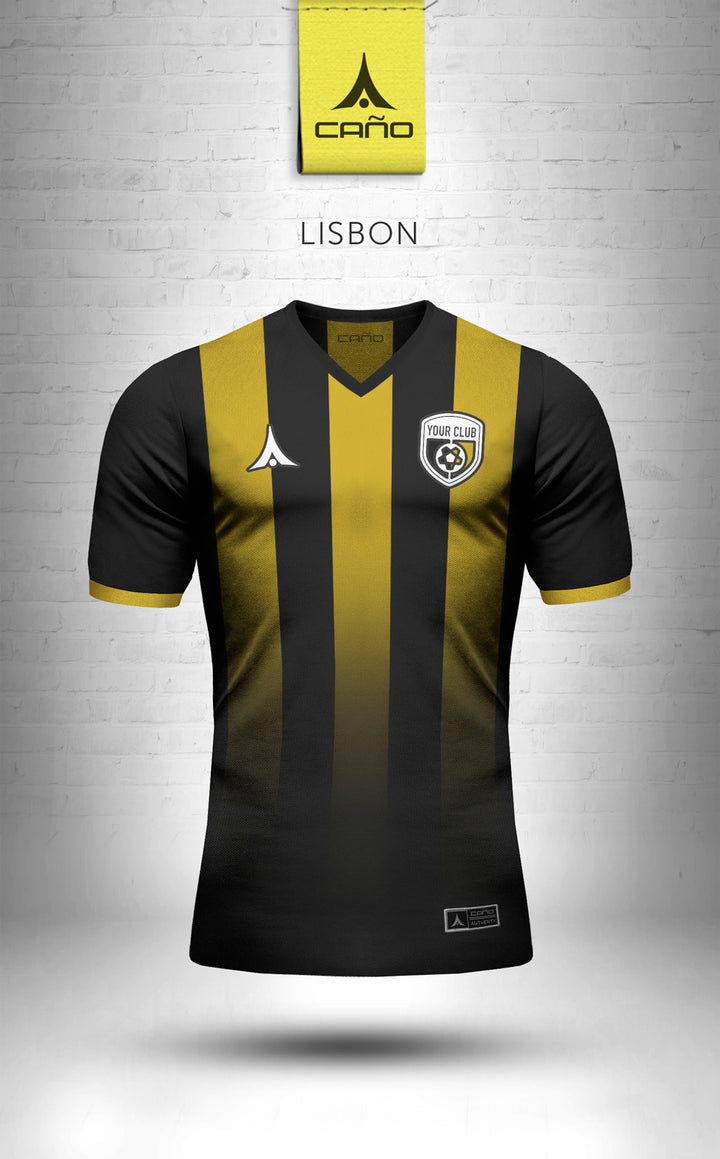 Lisbon in black/gold
