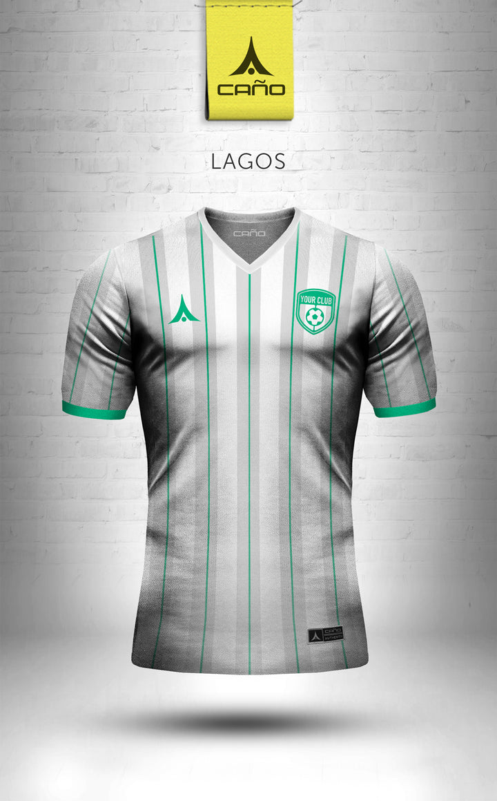 Lagos in white/alt