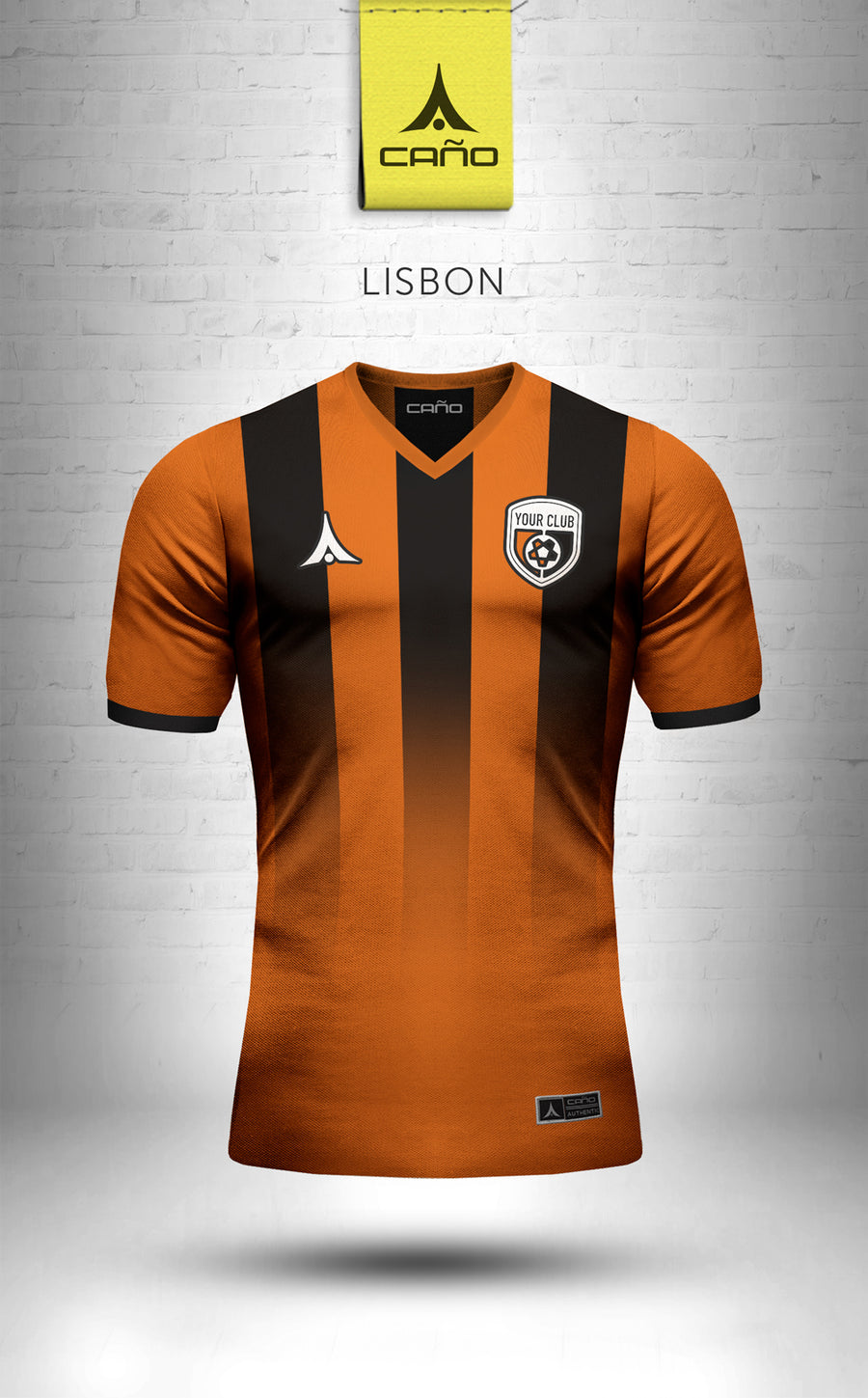 Lisbon in orange/black