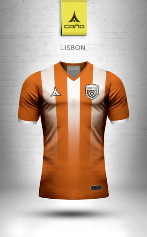Lisbon in orange/white