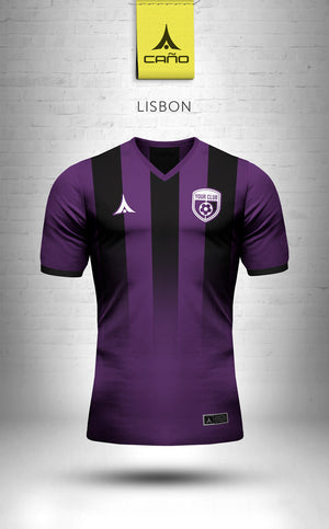 Lisbon in purple/black