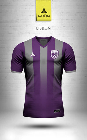 Lisbon in purple/grey