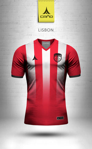 Lisbon in red/black/white