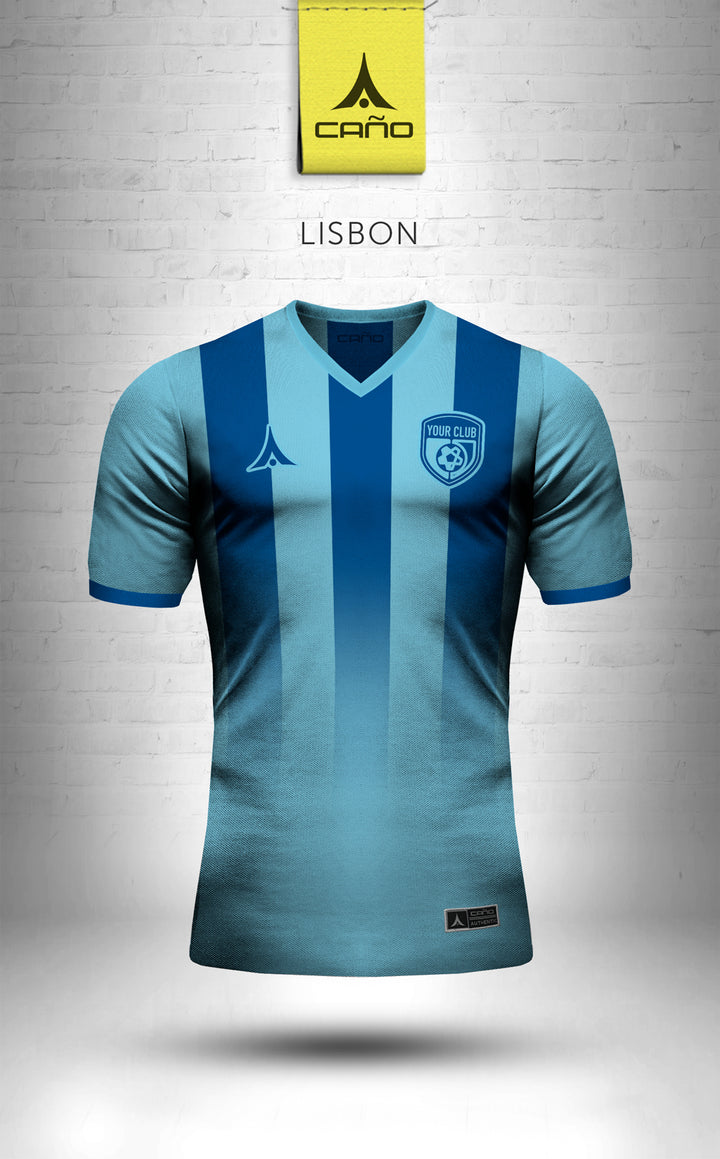 Lisbon in light blue/blue
