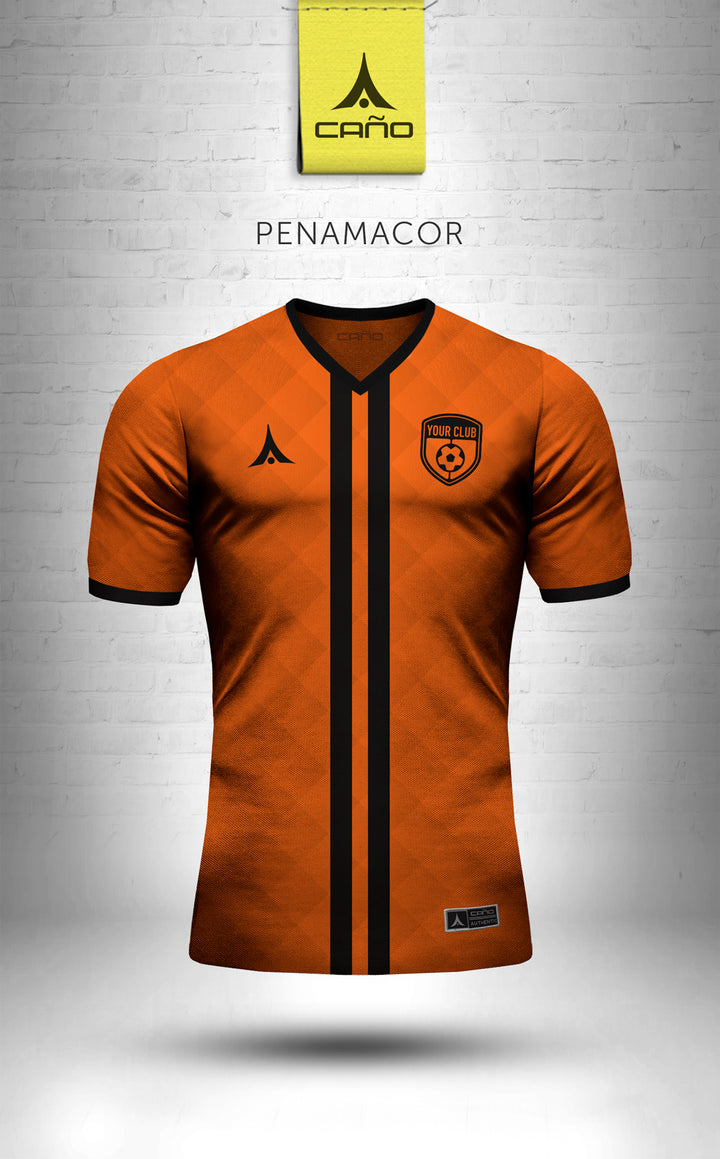Penamacor in orange/black