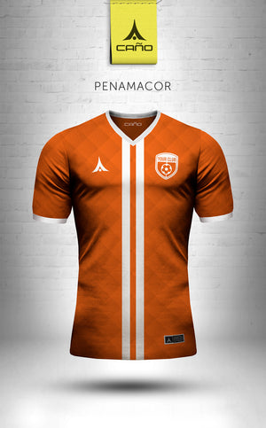 Penamacor in orange/white