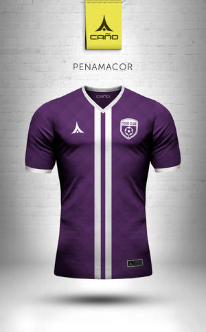 Penamacor in purple/white