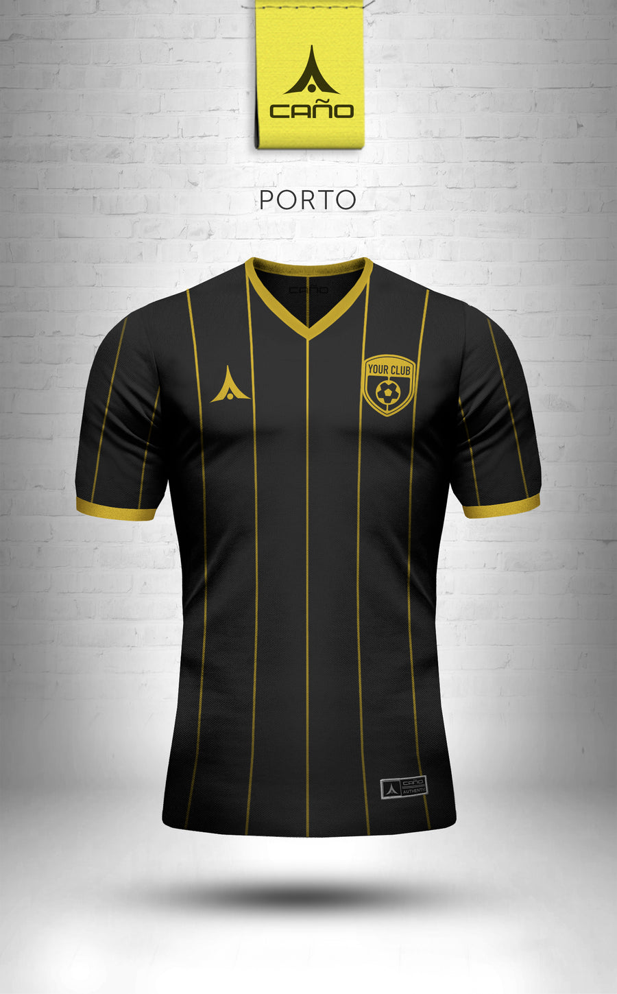 Porto in black/gold