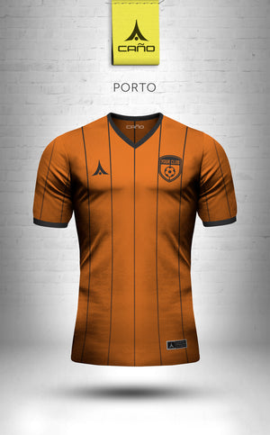 Porto in orange/black