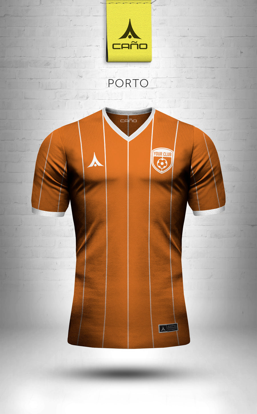 Porto in orange/white