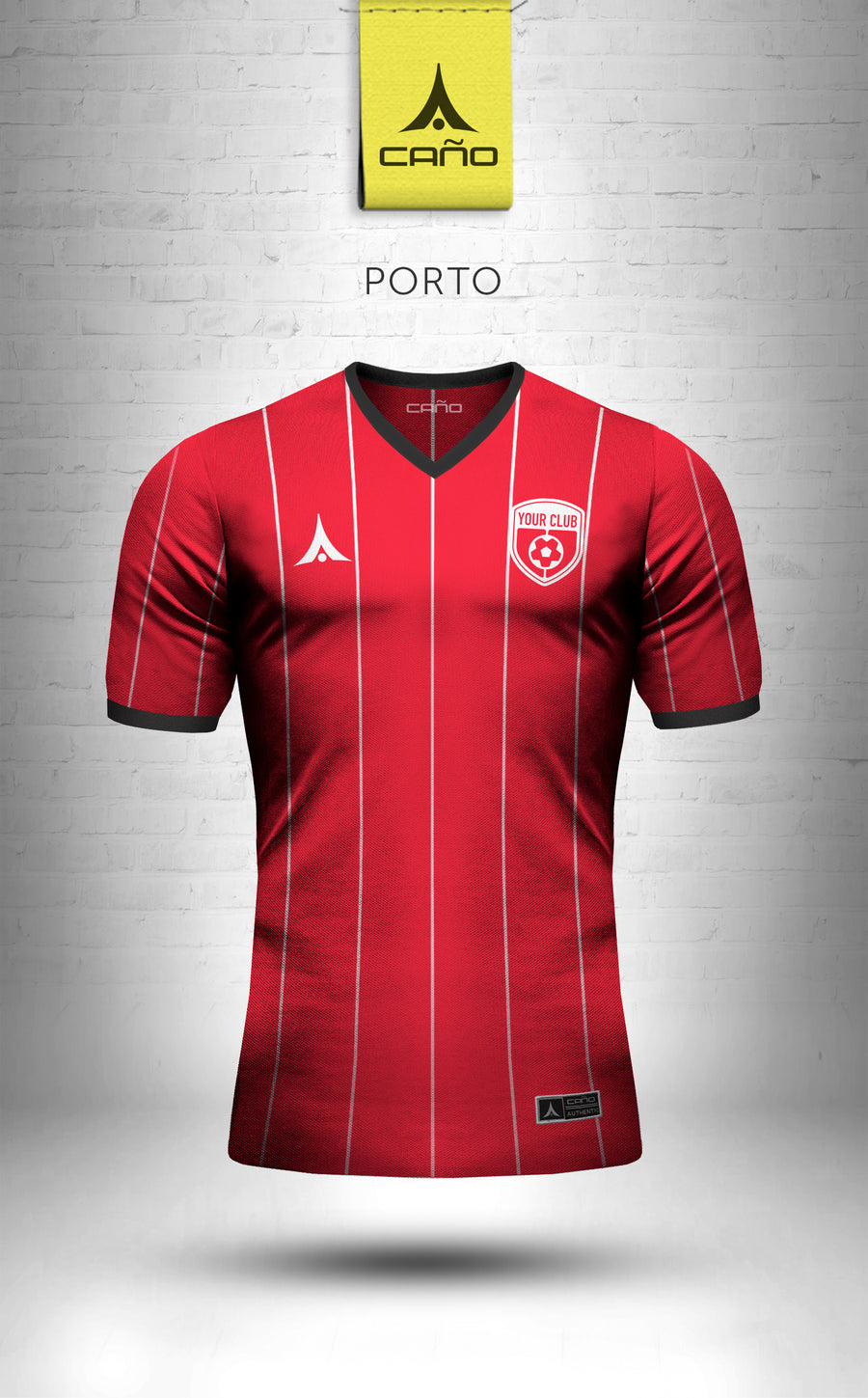 Porto in red/black/white