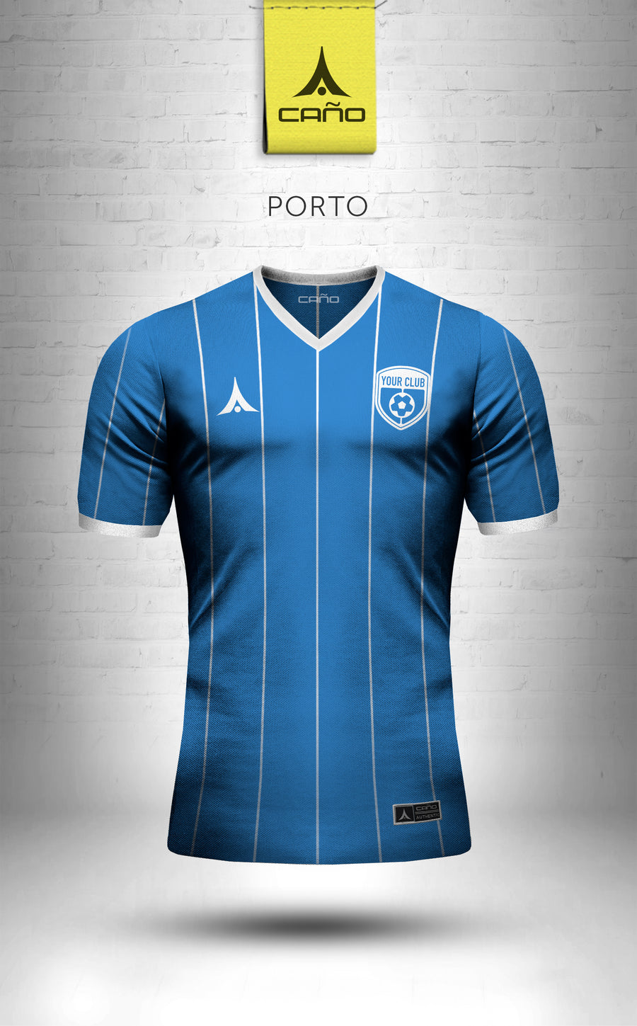 Porto in royal/white