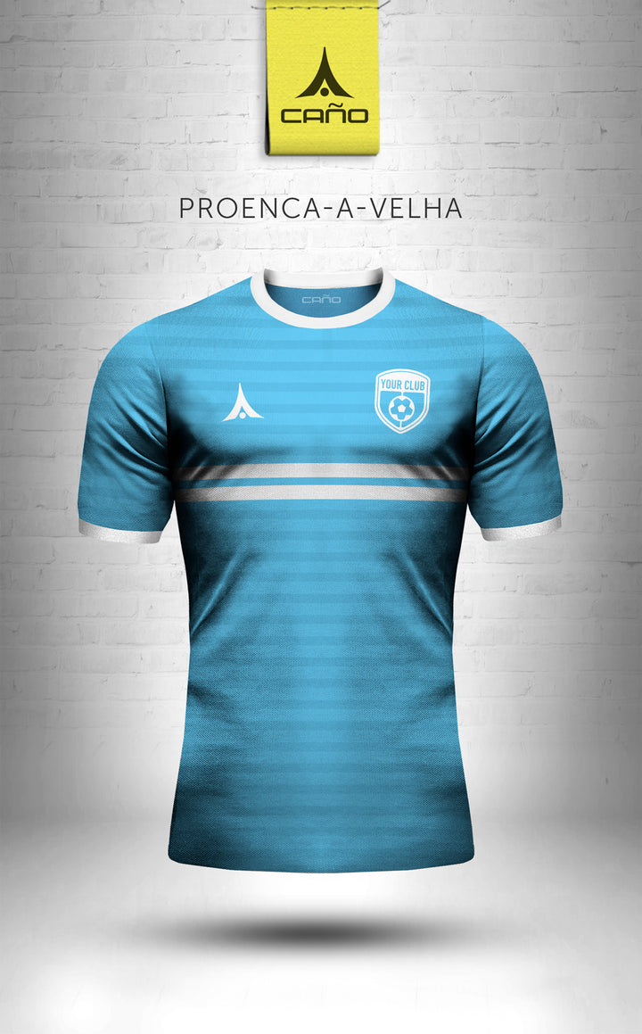 Proenca-a-Velha in light blue/white