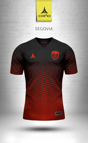 Segovia in black/red