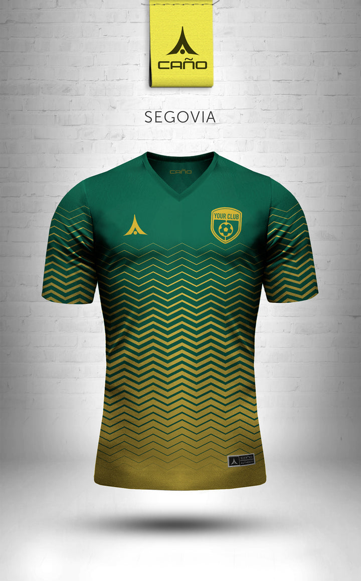 Segovia in green/gold