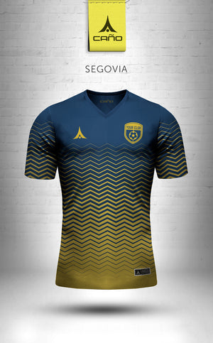 Segovia in navy/gold